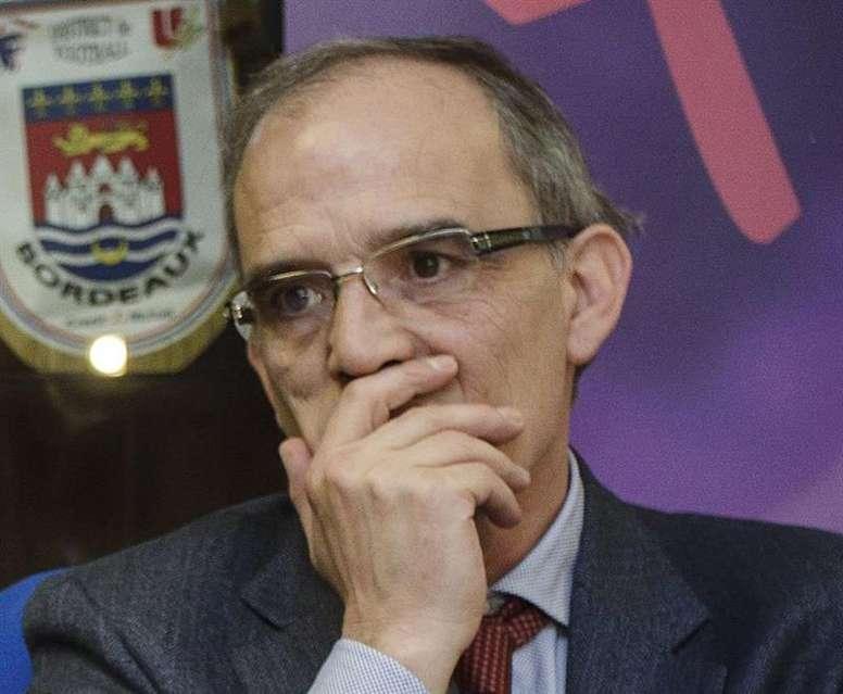Marcelino Maté es el presidente de la Federación Castellanoleonesa de Fútbol. EFE/Archivo