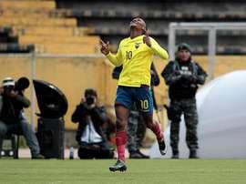 Bryan Cabezas es internacional por Ecuador. EFE/Archivo