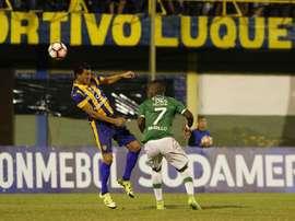 Deportivo Cali no dio opciones a su rival en Palmaseca. EFE/Archivo