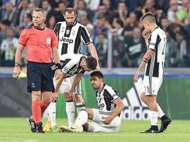 Situação na Juve preocupa a pouco mais de uma semana do jogo com o Real. EFE