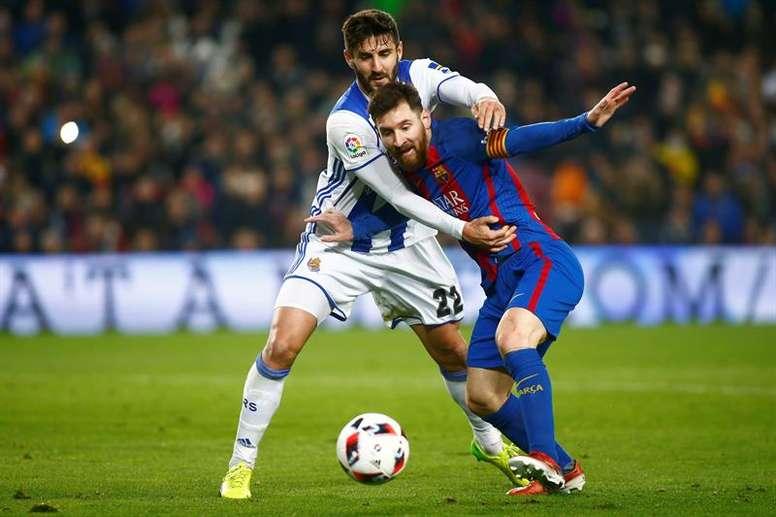 Le leader Barcelone se déplace à Anoeta. EFE