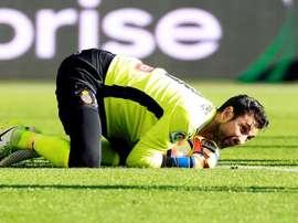 Le gardien de l'Espanyol, Diego Lopez, veut rester en Espagne. EFE