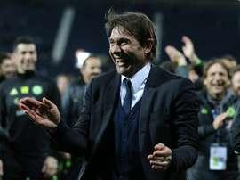 O Chelsea apresentou um registo de 30 triunfos no campeonato. EFE/EPA