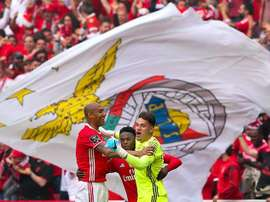 Benfica win fourth straight title. EFE/EPA