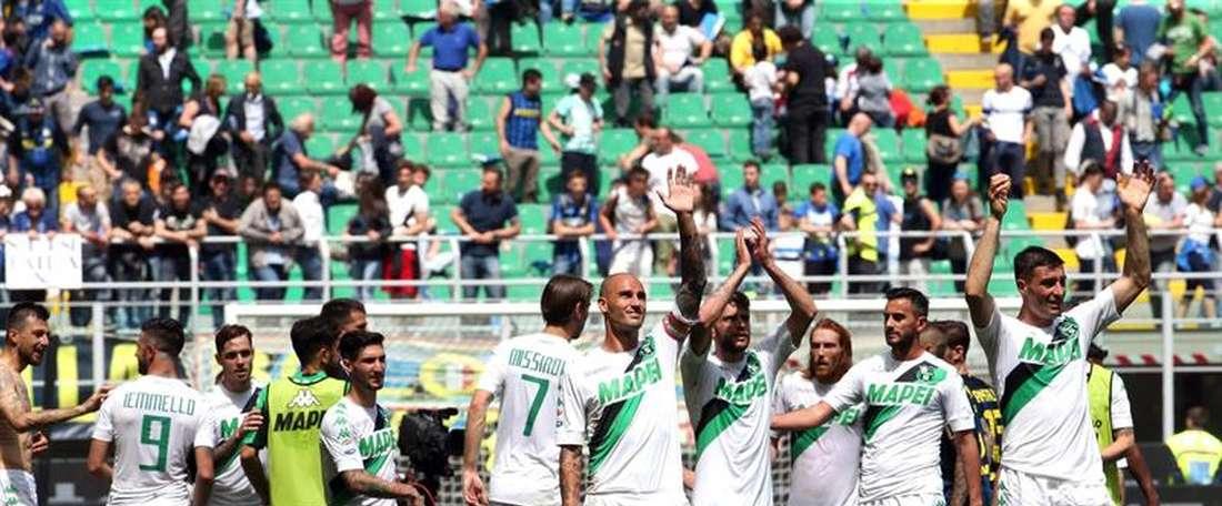 El conjunto italiano ha ampliado el contrato a cuatro jugadores. EFE/Archivo