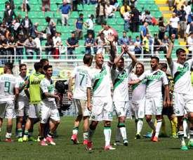 El Sassuolo venció por la mínima al Inter. EFE