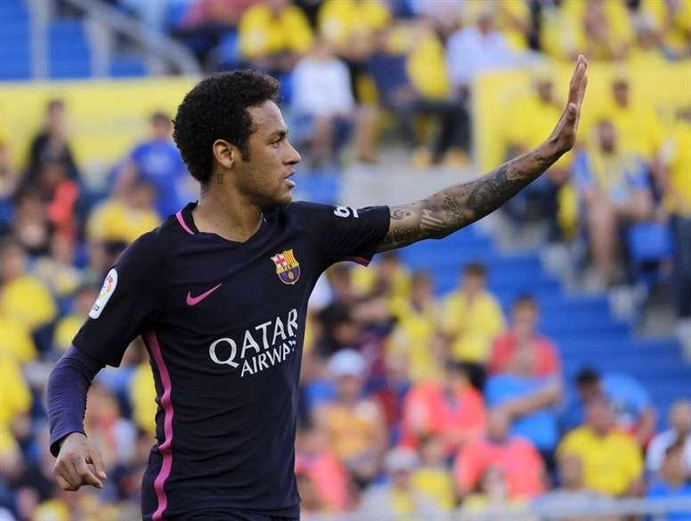 Neymar se siente muy motivado con la nueva temporada. EFE/Archivo