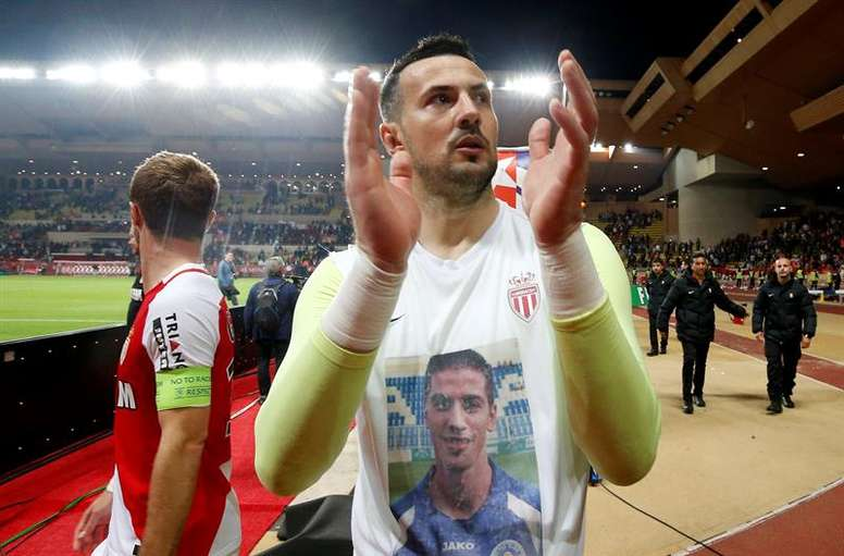 Subasic is just a few months away from leaving Monaco. EFE