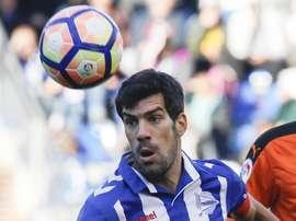 Manu Garcia est le héros du jour. EFE