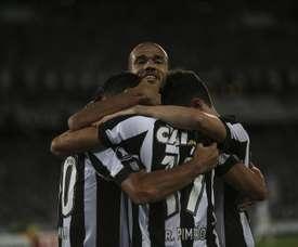 El jugador de Botafogo Roger regresó a los entrenamientos. EFE