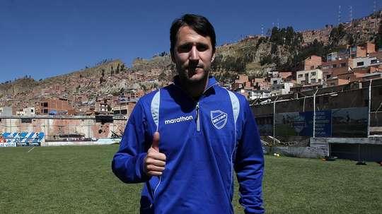 Beñat presumió del nivel del fútbol boliviano. EFE