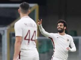 Salah and El Shaarawy strike to keep Juve waiting. EFE/EPA