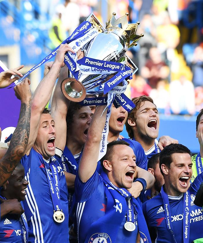 A feast at Stamford Bridge on the final day of the season. AFP