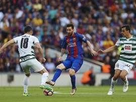 Atlético Madrid, Eibar, Espanyol e Real Sociedad têm os jogadores com mais minutos na Liga. EFE