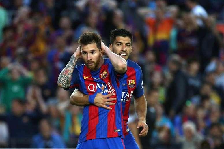 Luis Suárez falou da relação que tem com Lionel Messi. EFE