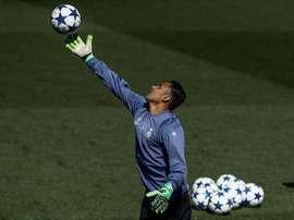 El portero del Real Madrid forma parte de este once ideal. EFE/Archivo