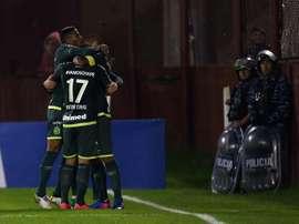 Chapecoense toma aire en el Brasileirao. EFE/Archivo