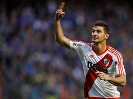 Alario has scored 41 goals in 82 games for River Plate. EFE/Archivo