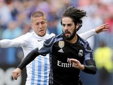 El Málaga ya ha jugado un millar de encuentros. EFE