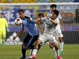 Tanto Uruguay como Japón consiguieron la clasificación para la siguiente ronda. EFE