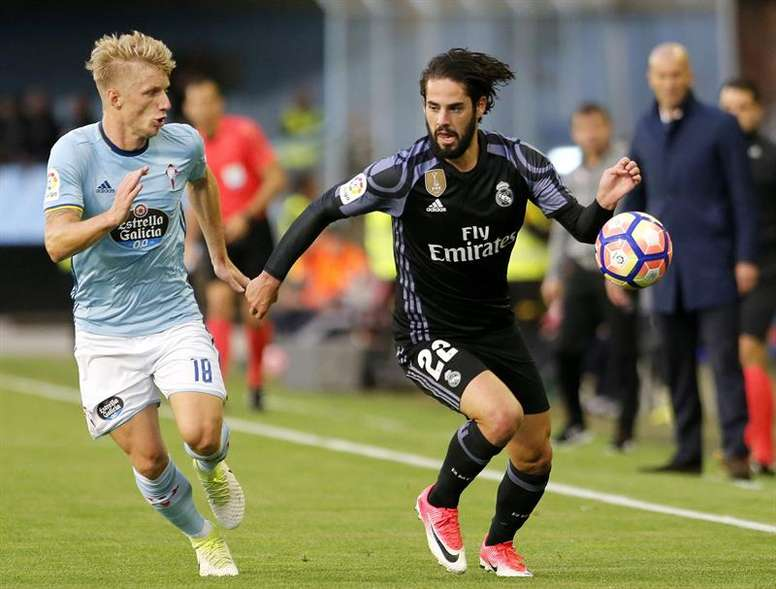 Isco has opened up about his all-time 11. EFE/Archivo