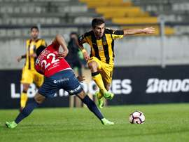 Peñarol se ha puesto líder del Grupo A. EFE