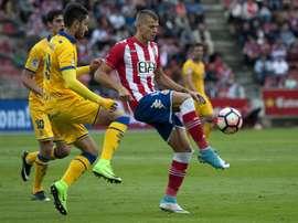 Elgezabal jugó el pasado año en el Alcorcón. EFE