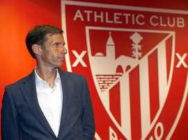 Santamaría habló del técnico del primer plantel, José Ángel Ziganda. EFE