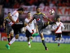 DIM no pudo obrar el milagro y se conformará con la Sudamericana. EFE