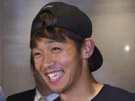 Kiyotake alaba la grandeza del Sevilla antes de enfrentarse a su ex equipo. EFE