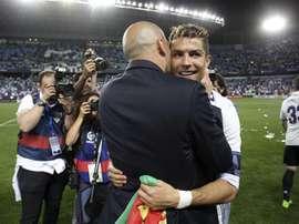 Zidane ne tarit d'éloges sur Kroos. efe