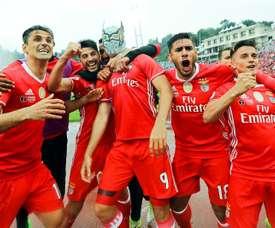 Benfica Lisbon won the Portuguese Cup. EFE/EPA