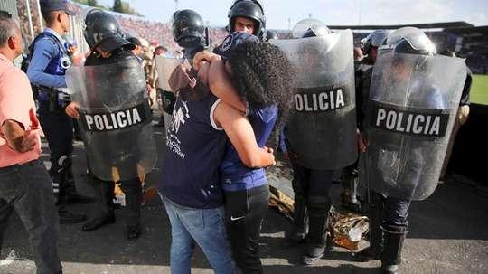 Lamentables acontecimientos en Honduras. EFE