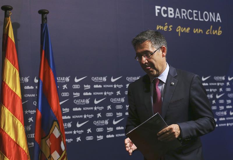 Presidente de Barcelona tomó decisión sobre continuidad de Ernesto Valverde