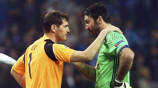 Buffon poderá ser o substituto de Casillas no Porto. EFE