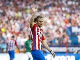 Diego Forlán jugó su último partido hace ya varios meses. EFE