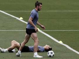 Bale will not play for Real Madrid against Leganes. EFE