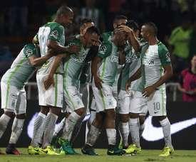 Atlético Nacional consiguió el pase a las semifinales. EFE/Archivo