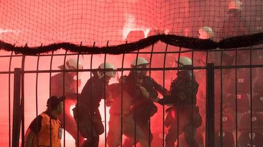 PAOK y AEK serán sancionados. EFE/Archivo