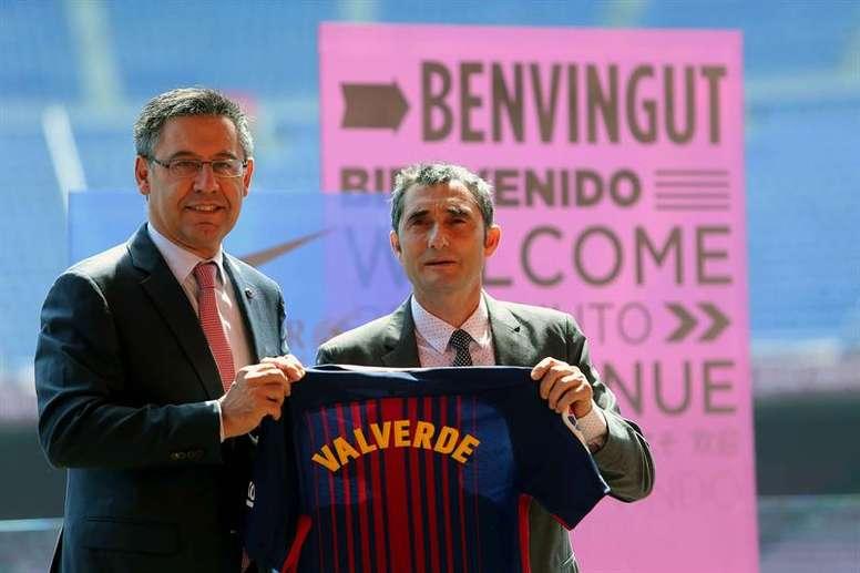 ¿Intentó el Barça que Valverde dimitiera? EFE