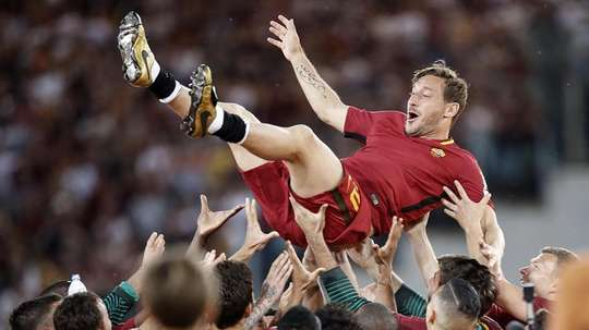 Totti podría emprender una nueva aventura. EFE