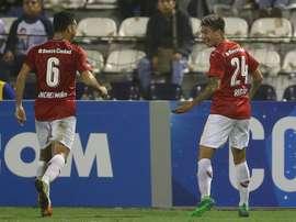 Independiente logró el pase en un partido loco. EFE