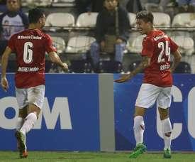 Independiente estropeó una renta de cuatro goles al final. EFE