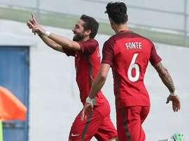 Portugal ni se inmutó con la ausencia de Cristiano y avasalló a Chipre. EFE
