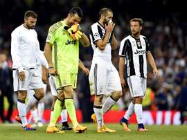 Chiellini spoke about the Champions League loss to Real Madrid. EFE