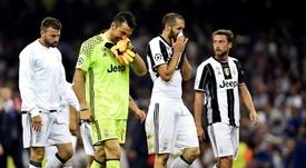 Juventus perdeu a final da Champions em 2017 contra o Real Madrid em Cardiff. EFE/EPA