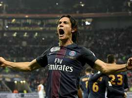 Cavani inspired his side to victory in their opening Ligue 1 game. EFE/EPA/Archivo