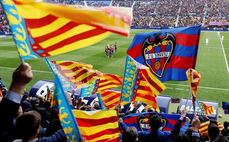 Levante will play at home. EFE