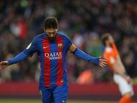 Personne n'oublie Messi pour son anniversaire. EFE