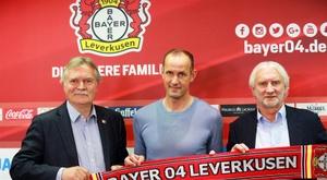 O alemão de 45 anos passou pelo Bayer enquanto jogador. EFE